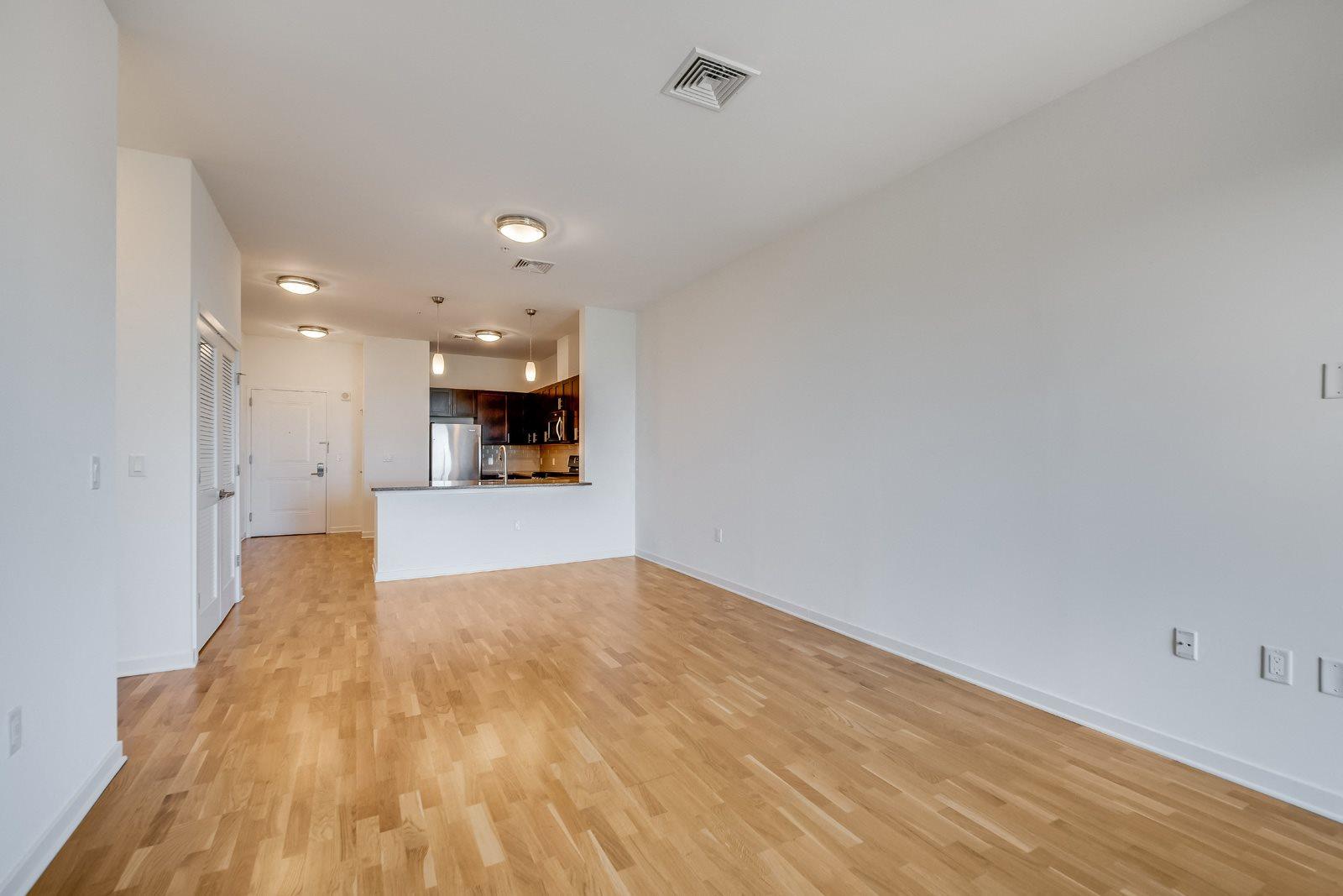 Wood flooring at Twenty50 by Windsor, Fort Lee, New Jersey