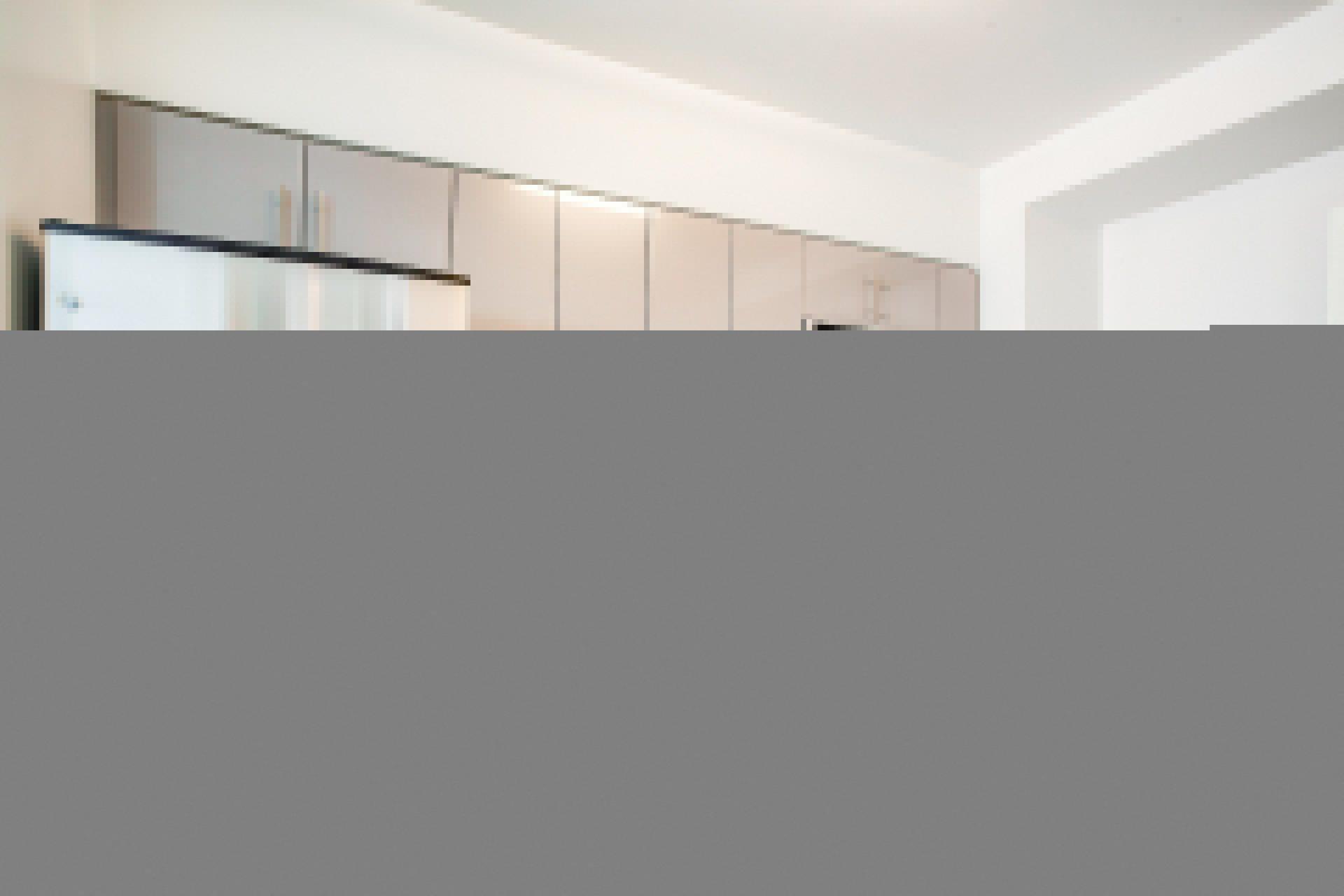 Tiled Kitchen Backsplash at Waterside Place by Windsor, Massachusetts, 02210