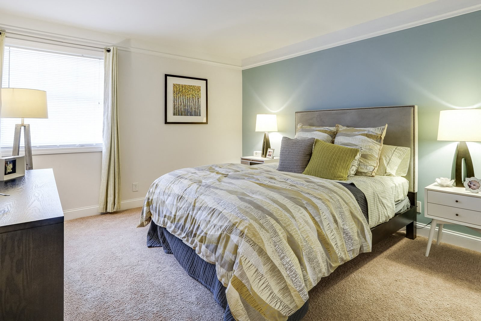 King-Sized Bedrooms at Windsor Village at Waltham, Waltham, Massachusetts