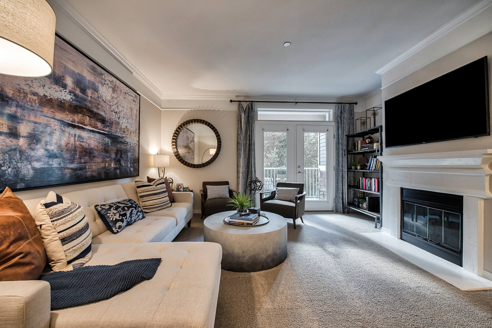 Open-concept floor plans, at The Estates at Cougar Mountain, 98027, WA