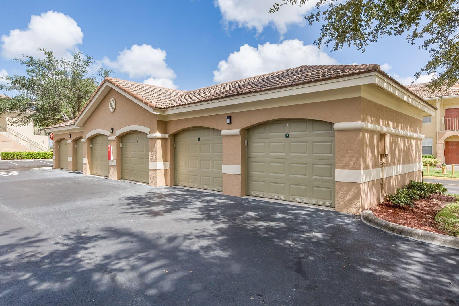 Private Garages Available at Windsor at Miramar, Miramar, Florida