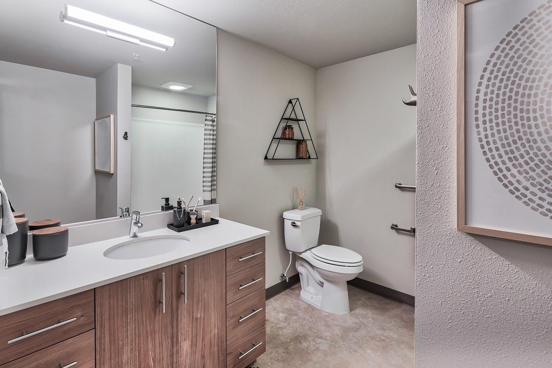 Modern Bathroom Fittings at Platform 14, Hillsboro, OR