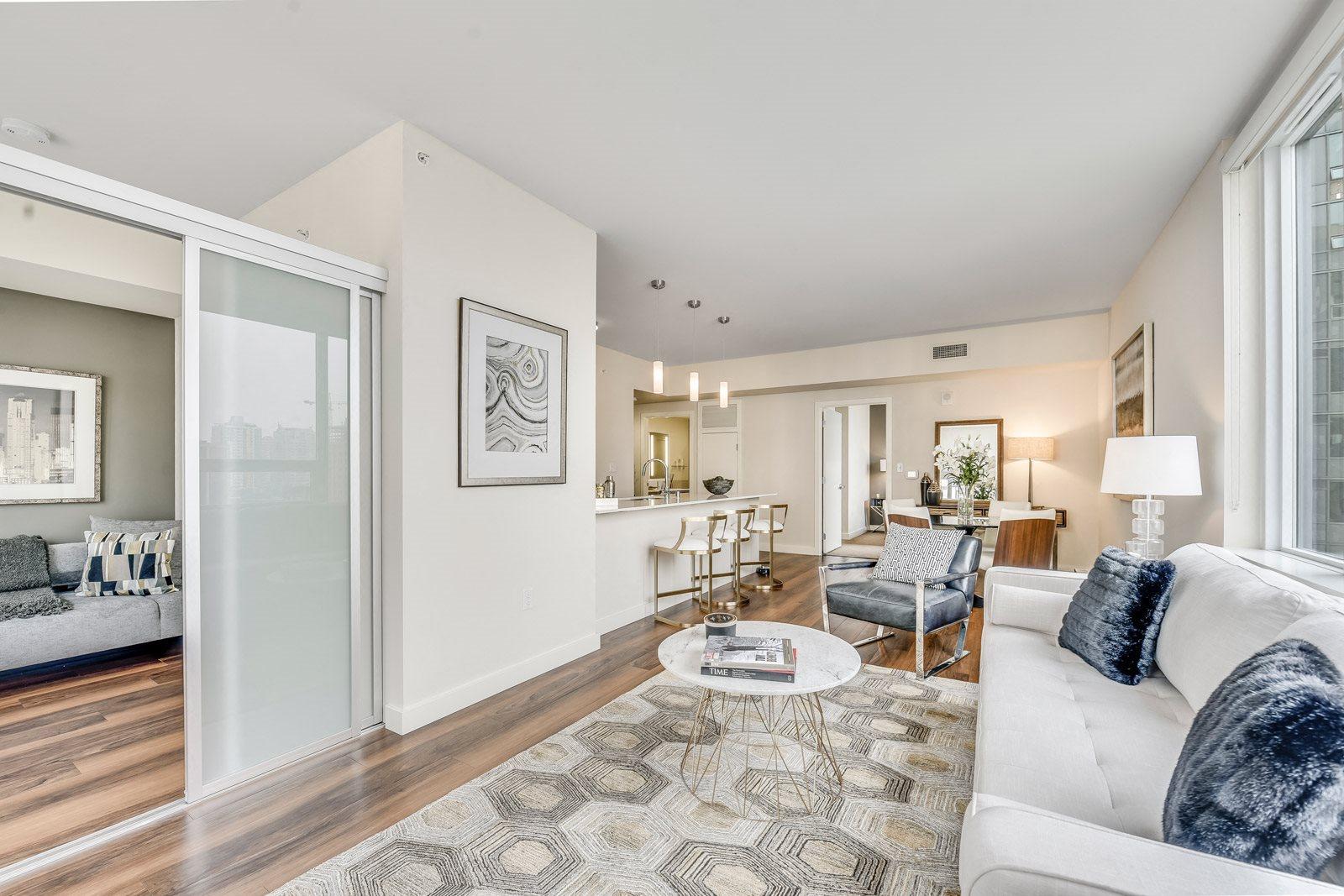 Open Concept Floor Plan at The Martin, Washington, 98121