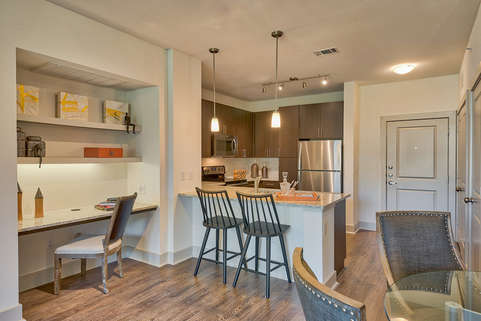 Custom Cabinetry with Premium Countertops at Windsor Lantana Hills, Austin, 78735