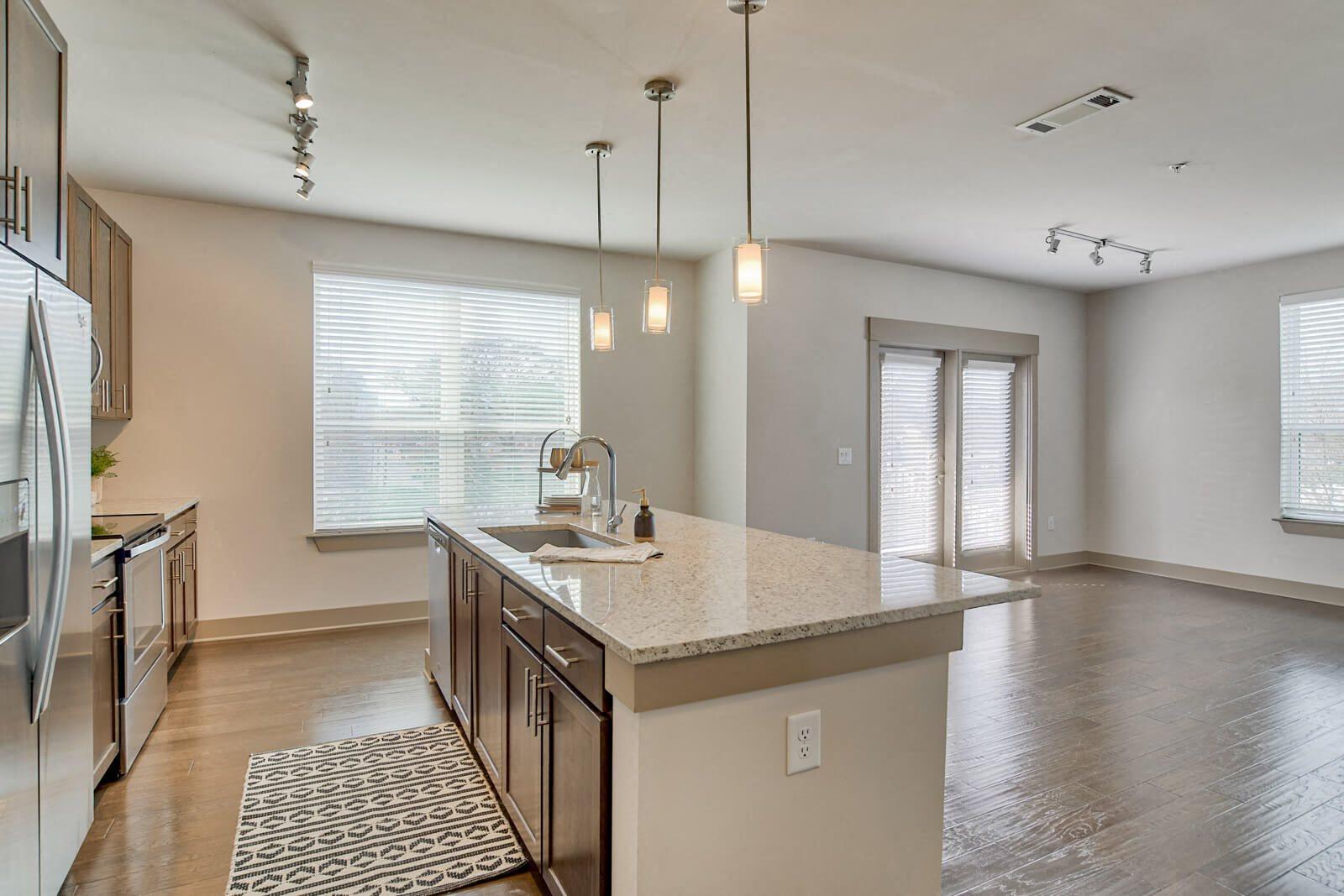 Open Floor Plans Provide Design Flexibility at Windsor Old Fourth Ward, Atlanta, 30312