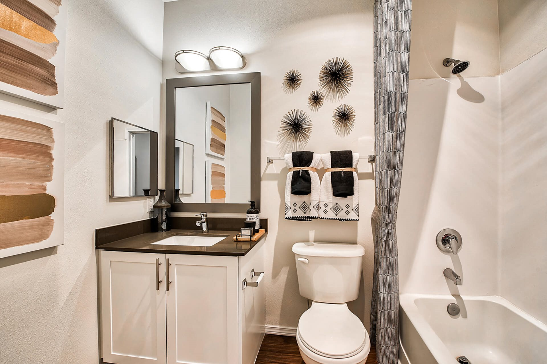 Modern Bathroom Fittings at Reflections by Windsor, Washington, 98052