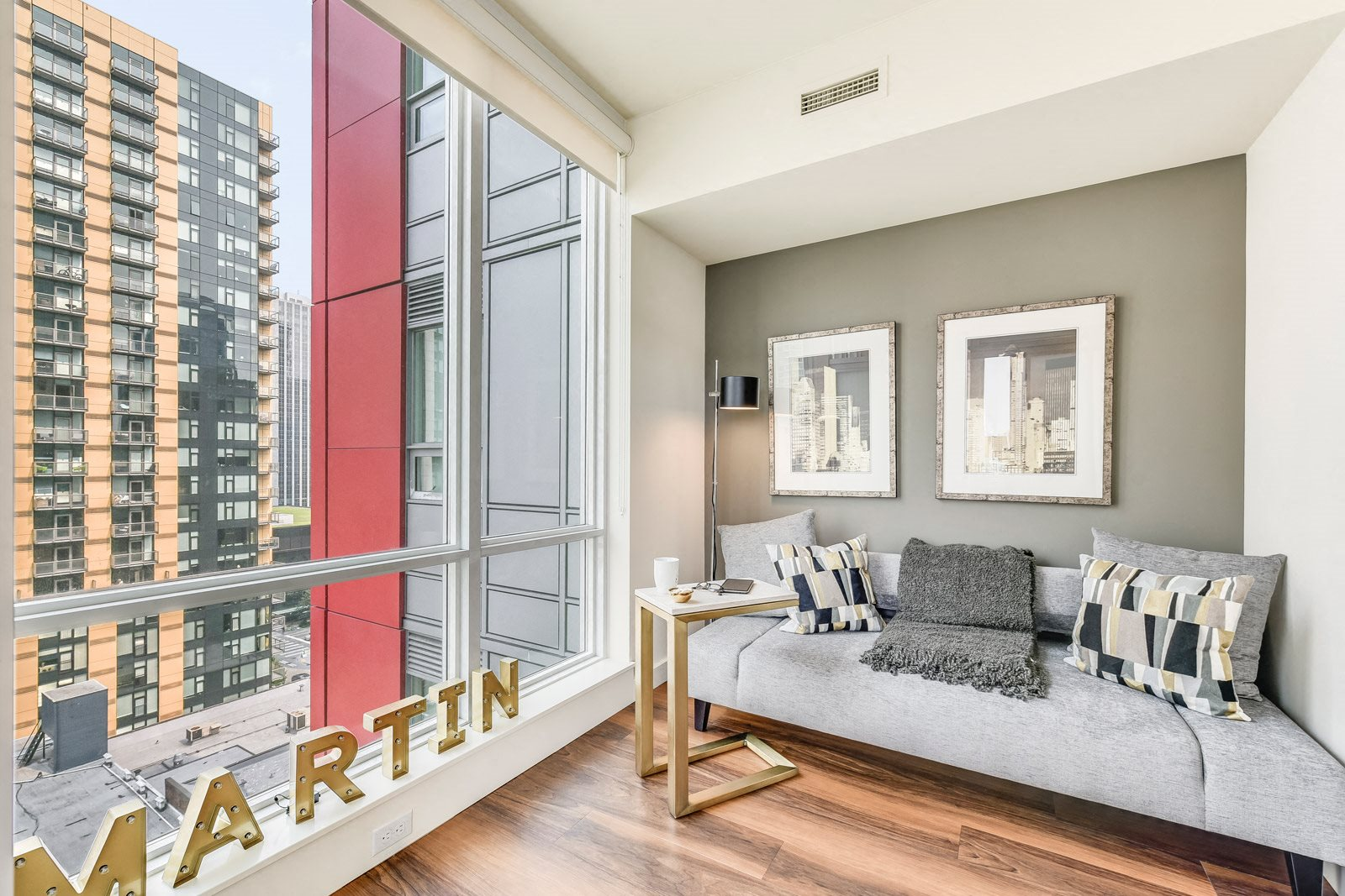 Sound and Wind-Resistant Windows at The Martin, 98121, WA
