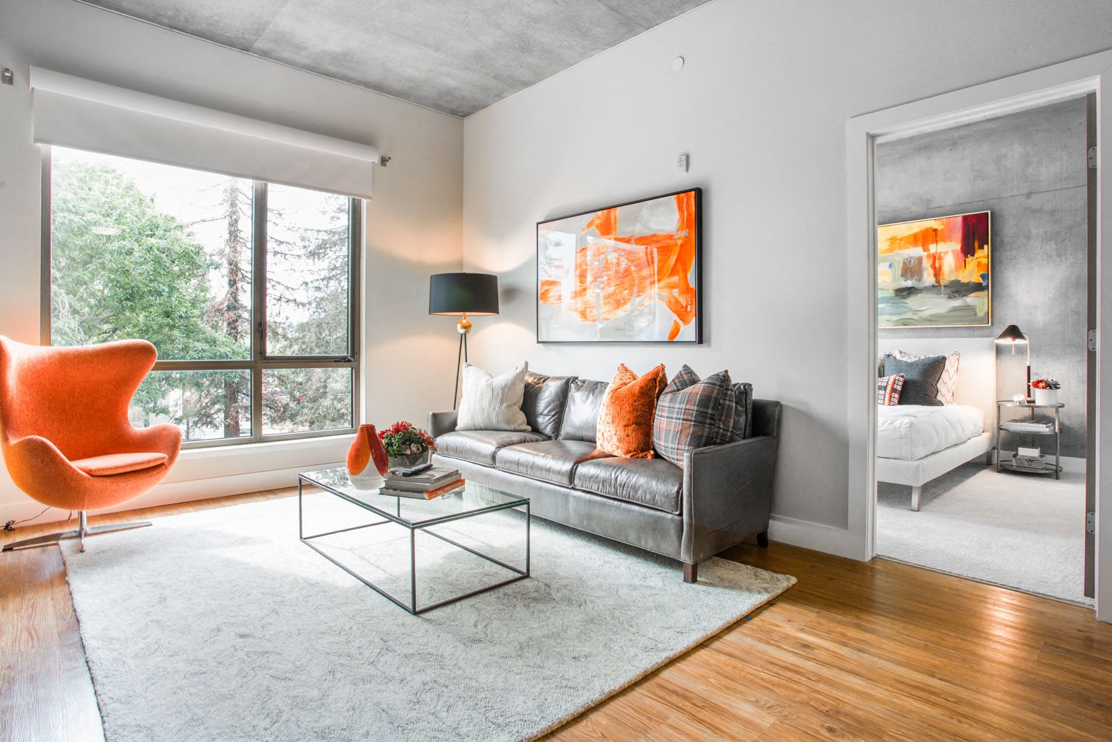 Open Floor Plan at The Marston by Windsor, 825 Marshall Street, CA