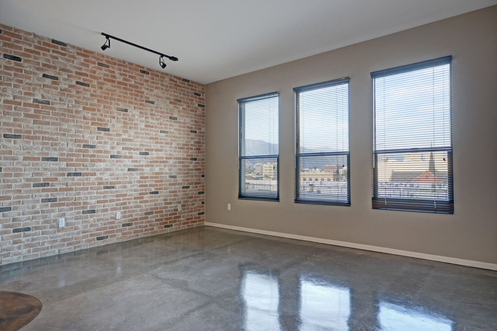 Large Windows Look Out on Great View at Terraces at Paseo Colorado, 375 E. Green Street, CA