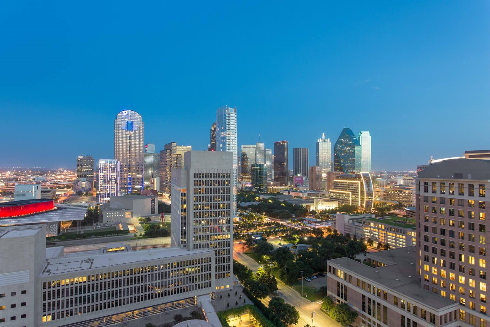Twilight City Views at The Jordan by Windsor, 2355 Thomas Ave, Dallas