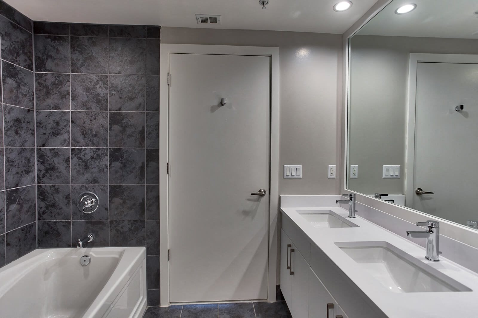 Spacious Bathrooms at IO Piazza by Windsor, Arlington, 22206