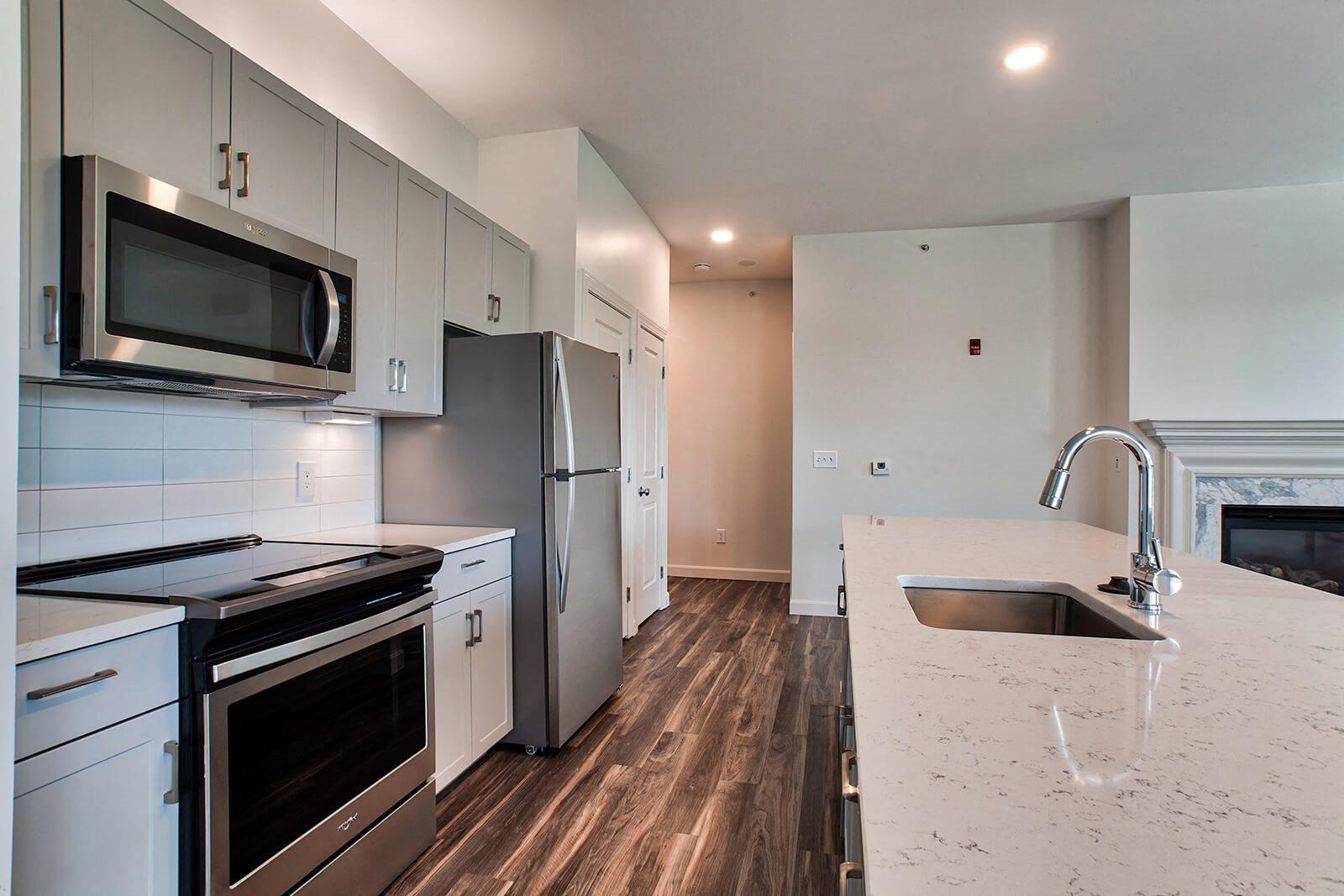 Hardwood Floors at Windsor at Oak Grove, Melrose, MA