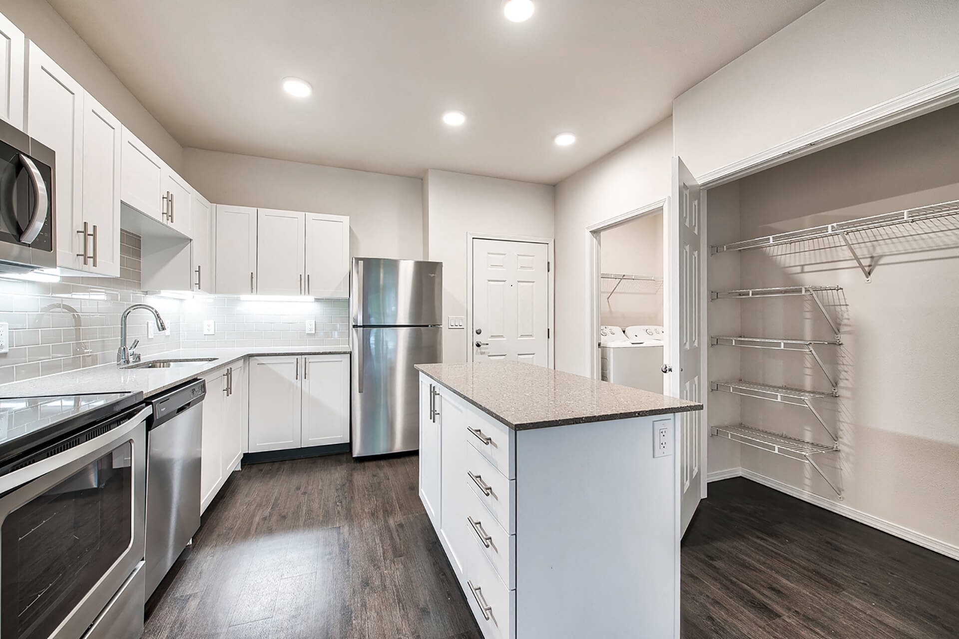 Eat-In Kitchen With Pantry at Reflections by Windsor, Redmond, Washington