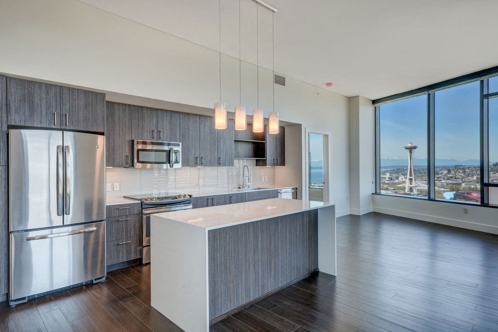 Open-Concept Floor Plans at Cirrus, 98121, WA