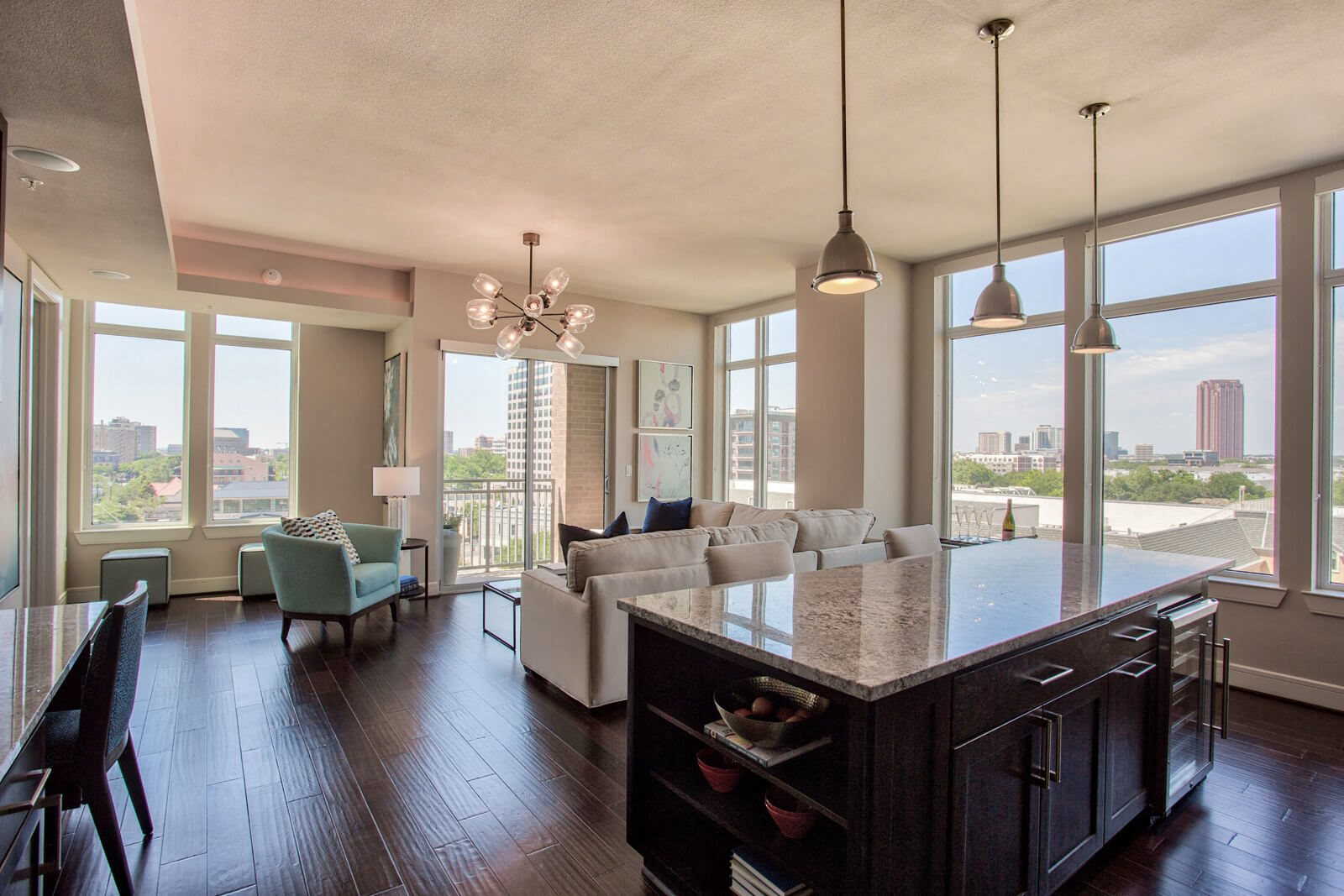 One or Two Bedroom Apartments and Penthouses Available at The Jordan by Windsor, 2355 Thomas Ave, Dallas