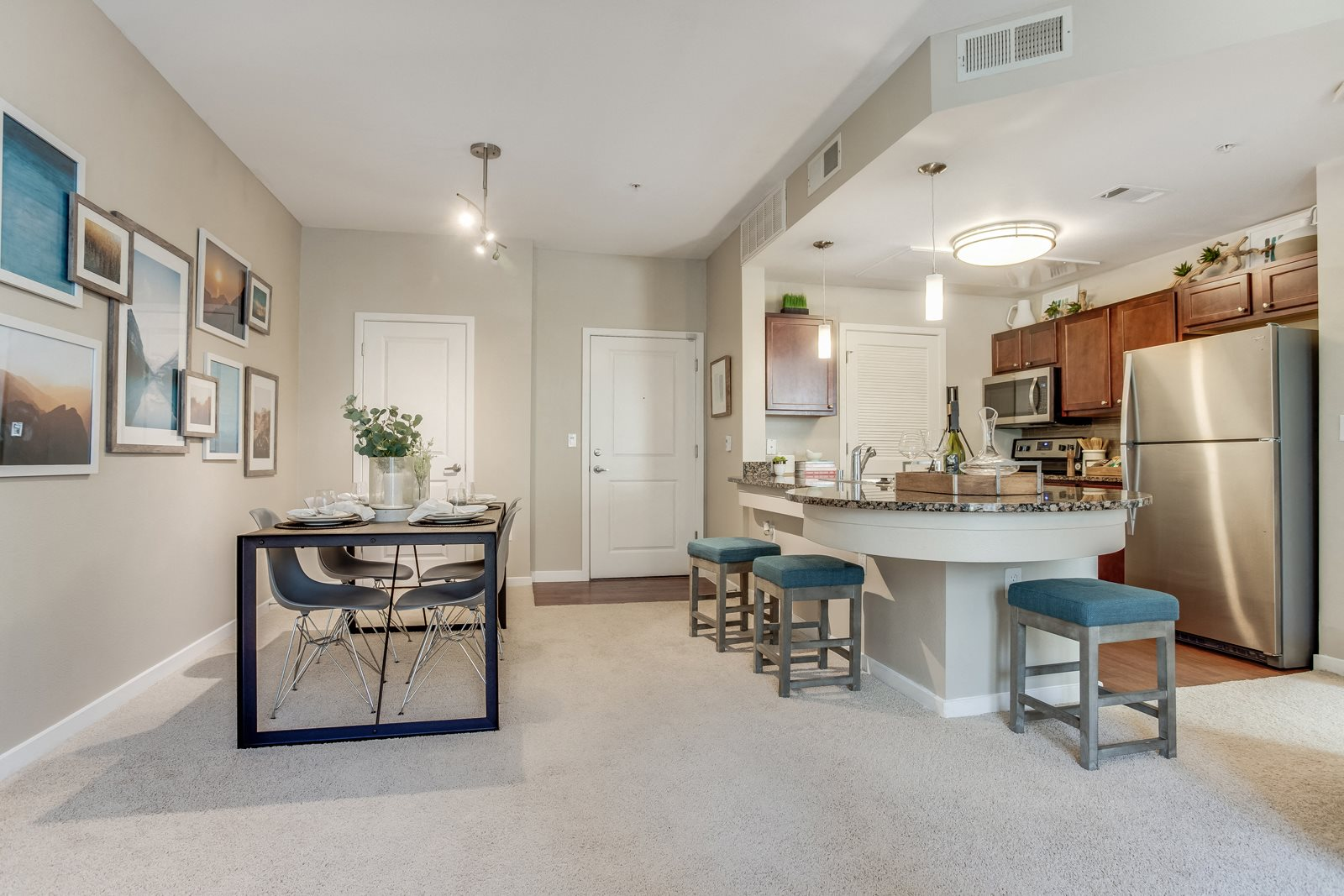 Open Floor Plan at The District, Denver, CO,80222