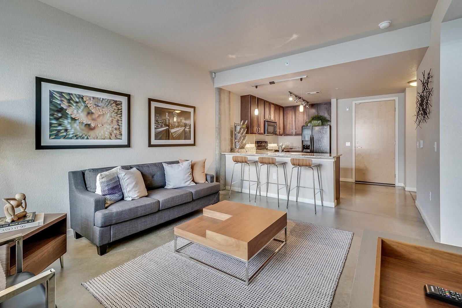 Open Concept Floor Plan at Windsor at Broadway Station, 80210, CO