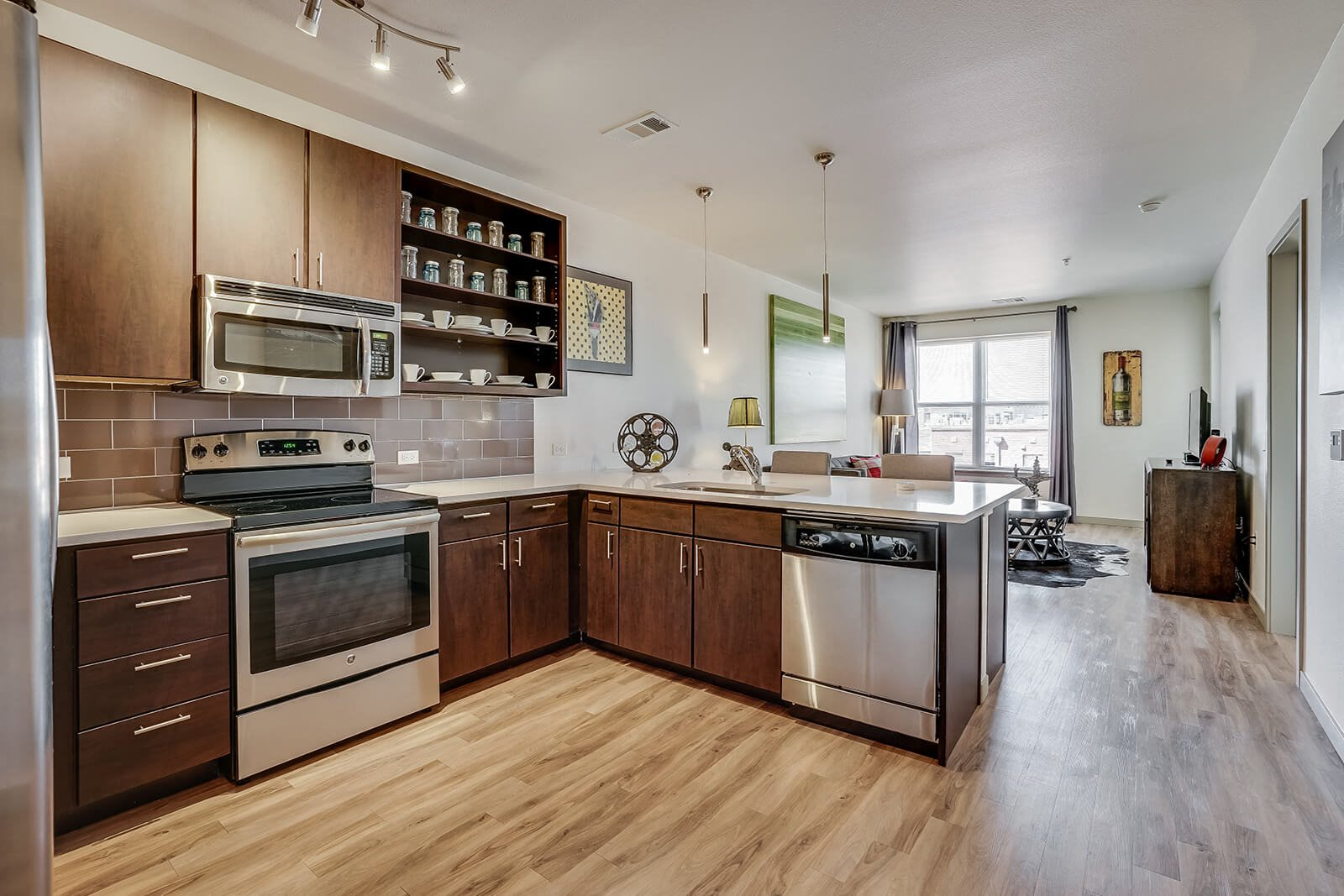 Open-Concept Floor Plans at The Casey, 2100 Delgany, CO