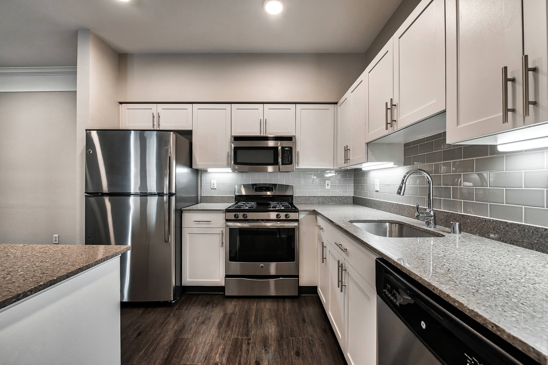 Renovated kitchens , at The Estates at Cougar Mountain, Issaquah, WA