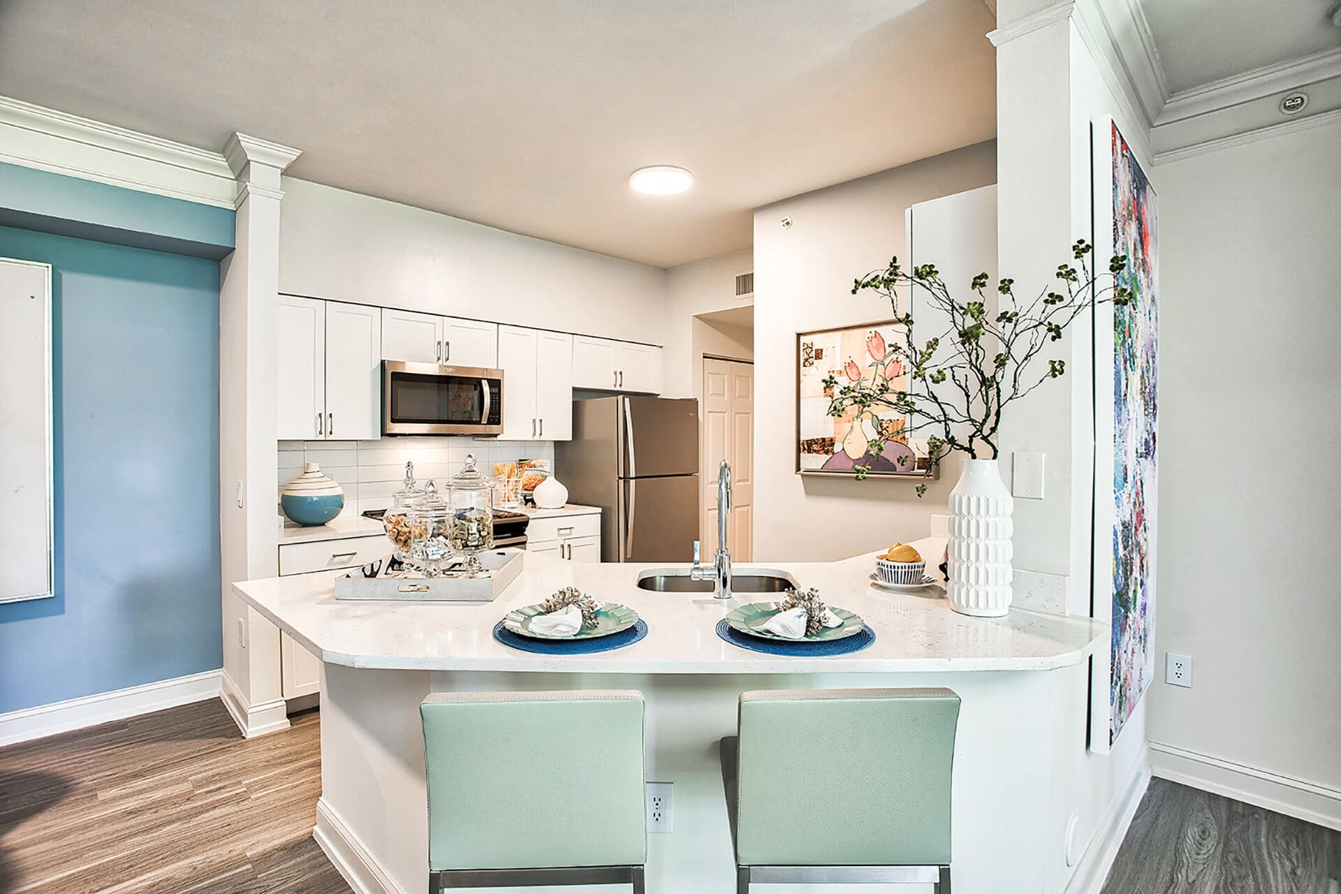 Brand new kitchens feature, at Windsor at Miramar, Miramar, FL