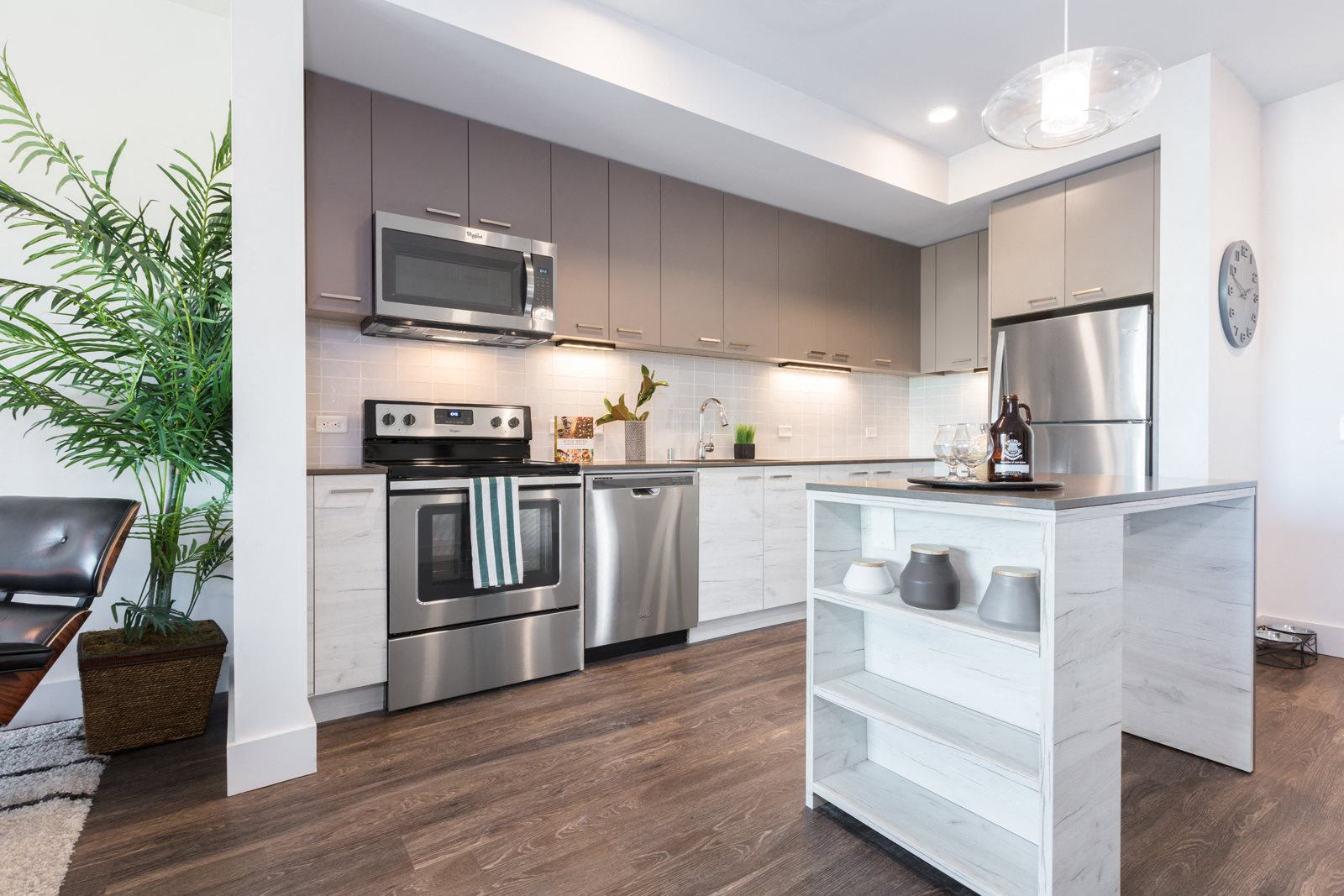 Large, Kitchen Islands Available at Mission Bay by Windsor, 360 Berry Street, San Francisco