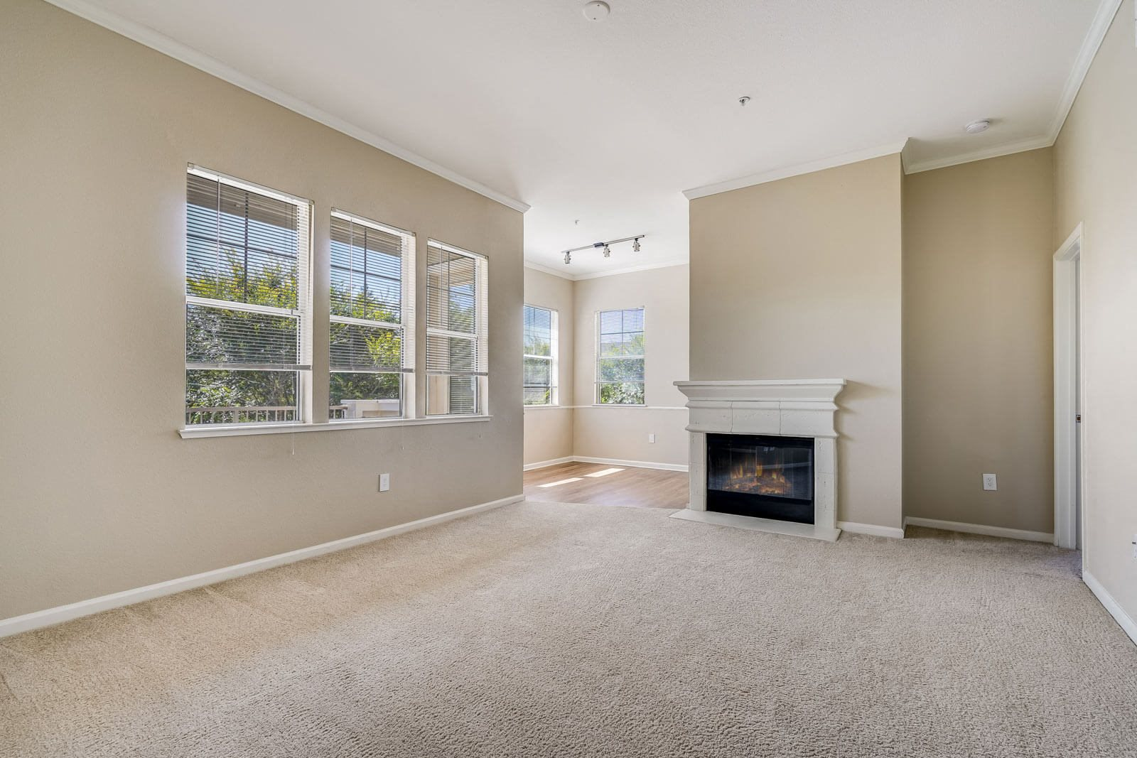 Fireplaces in Select Apartments at The Estates at Park Place, Fremont, 94538