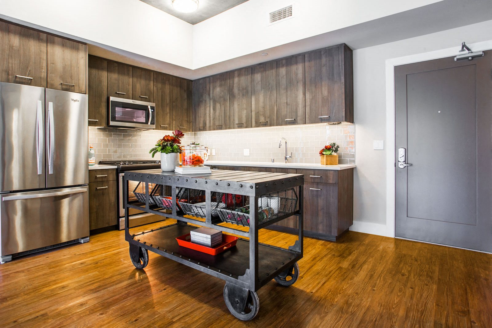 Upscale Stainless Steel Appliances at The Marston by Windsor, 825 Marshall Street, Redwood City