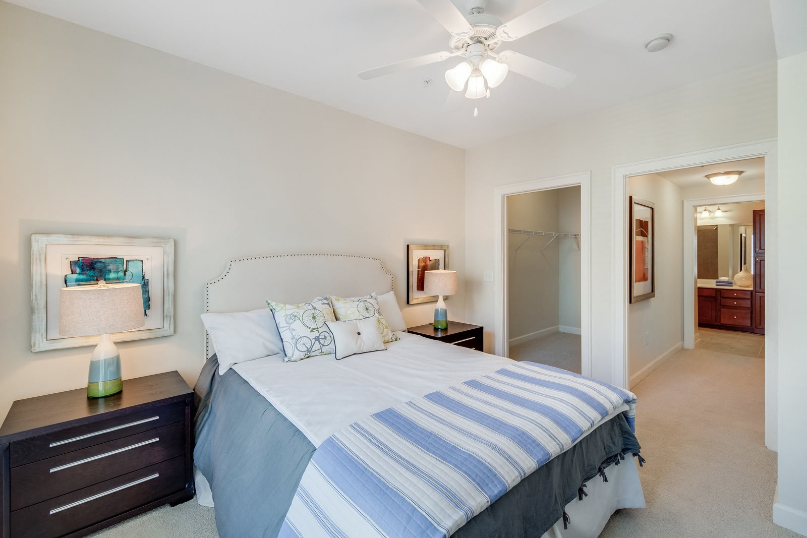 Large Bedrooms with Ceiling Fans at Windsor at Brookhaven, 305 Brookhaven Ave., Atlanta