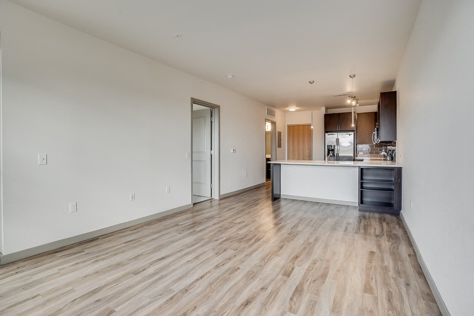 Design and Decoration Flexibility in Apartments at The Casey, 2100 Delgany, Denver