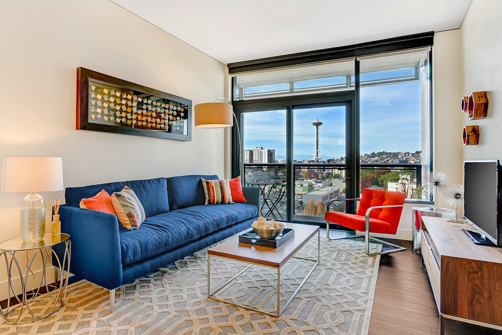 Stunning Views of Space Needle in Select Apartments at Cirrus, 2030 8th Avenue, Seattle