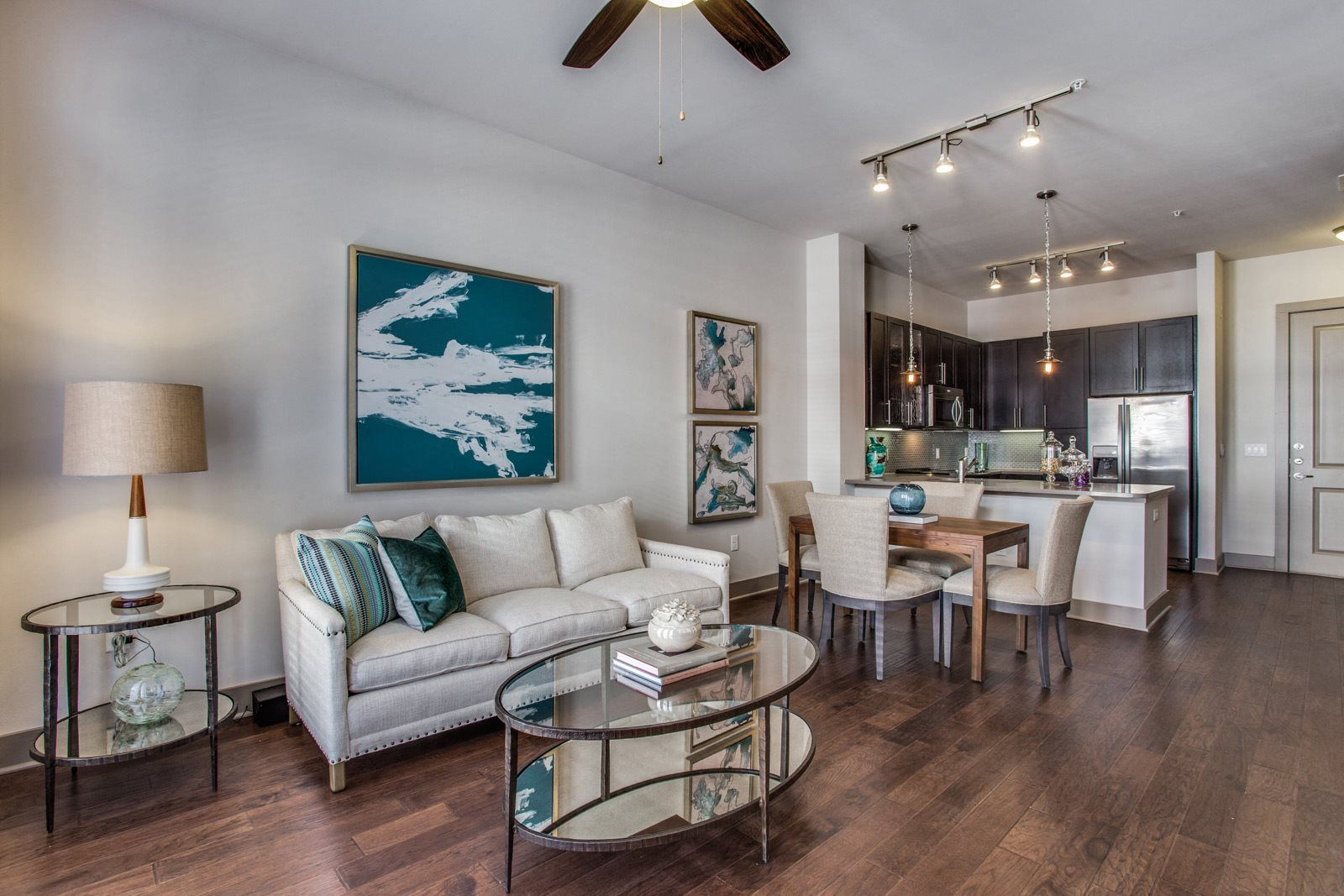Hardwood Floors at Windsor CityLine, Richardson, Texas