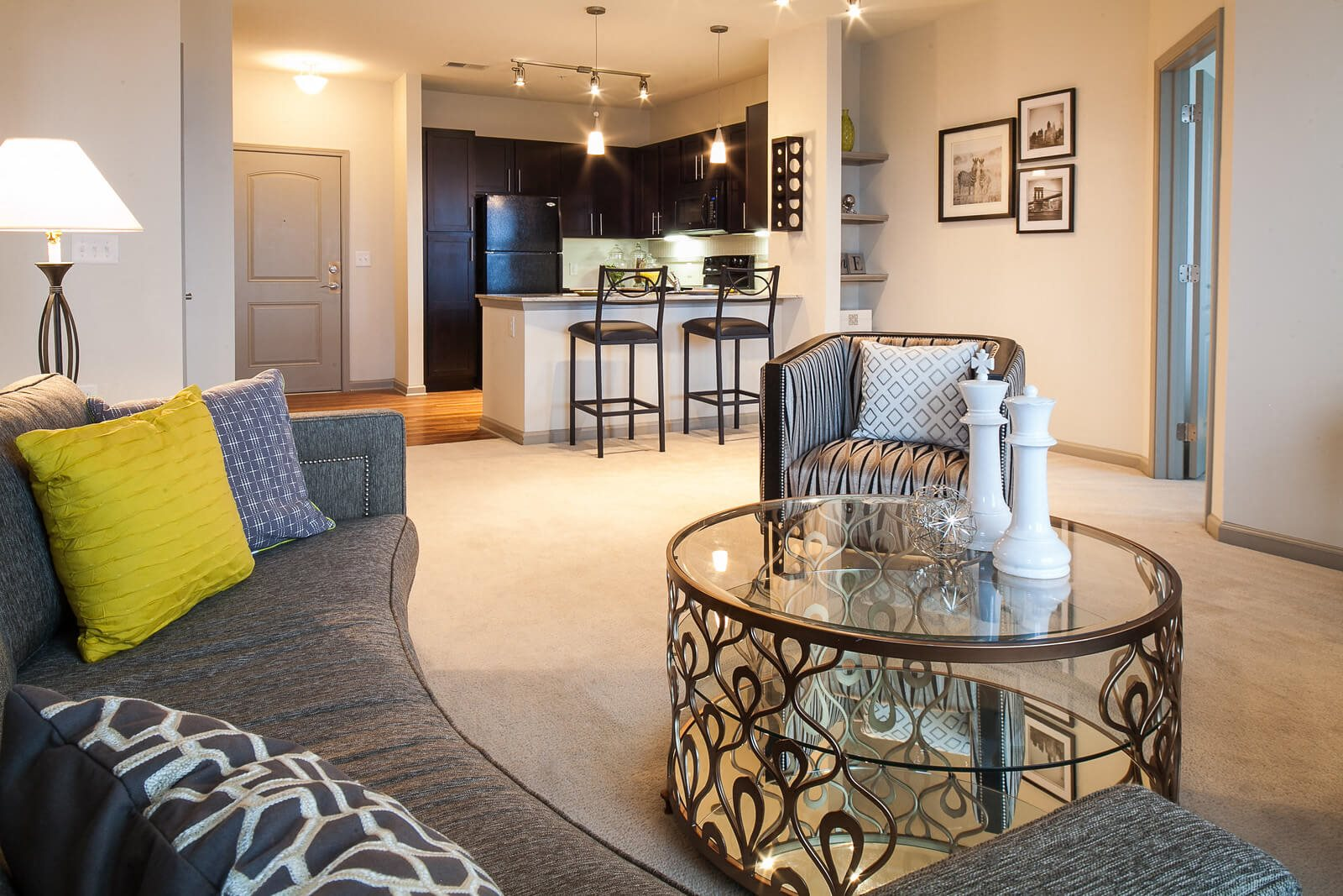 Open-Concept Floor Plans at Windsor at Glenridge, Sandy Springs, Georgia