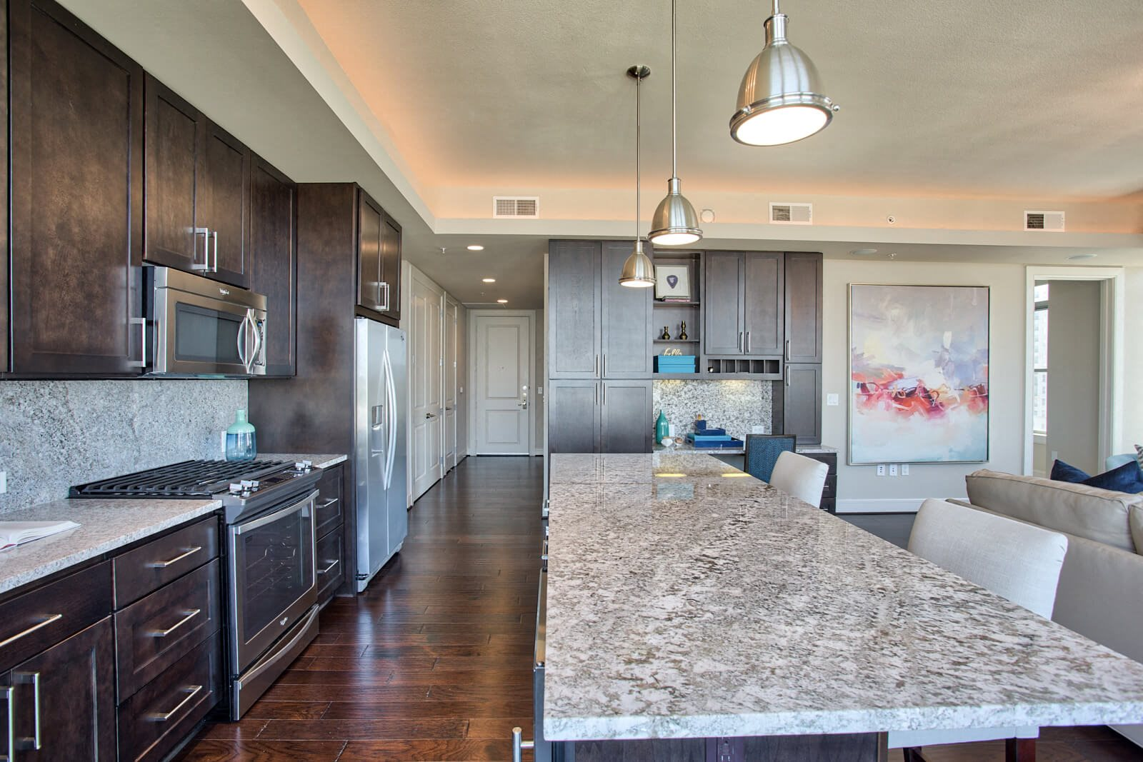 Chef-Inspired Kitchen Islands at The Jordan by Windsor, Dallas, Texas