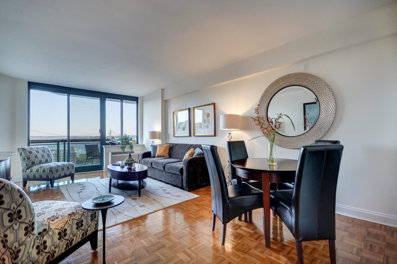 Bright Picture Windows Allow Abundant Light Inside at Windsor at Mariners, 100 Tower Dr., NJ