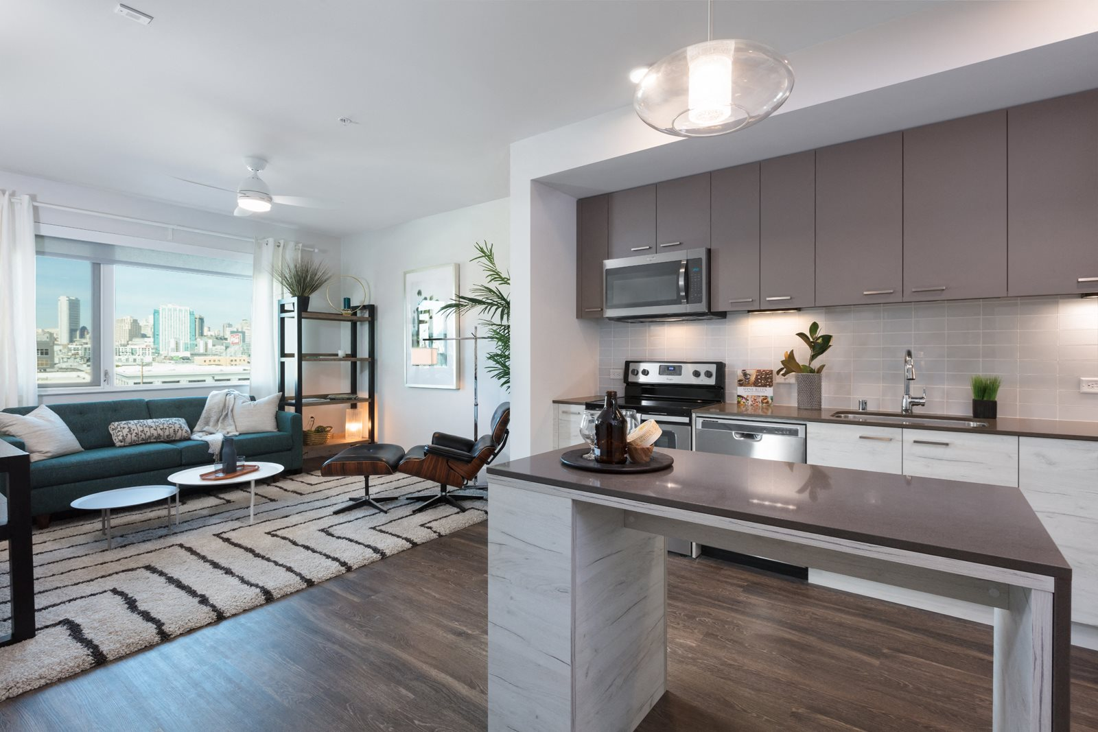 Open-Concept Kitchens at Mission Bay by Windsor, San Francisco, CA