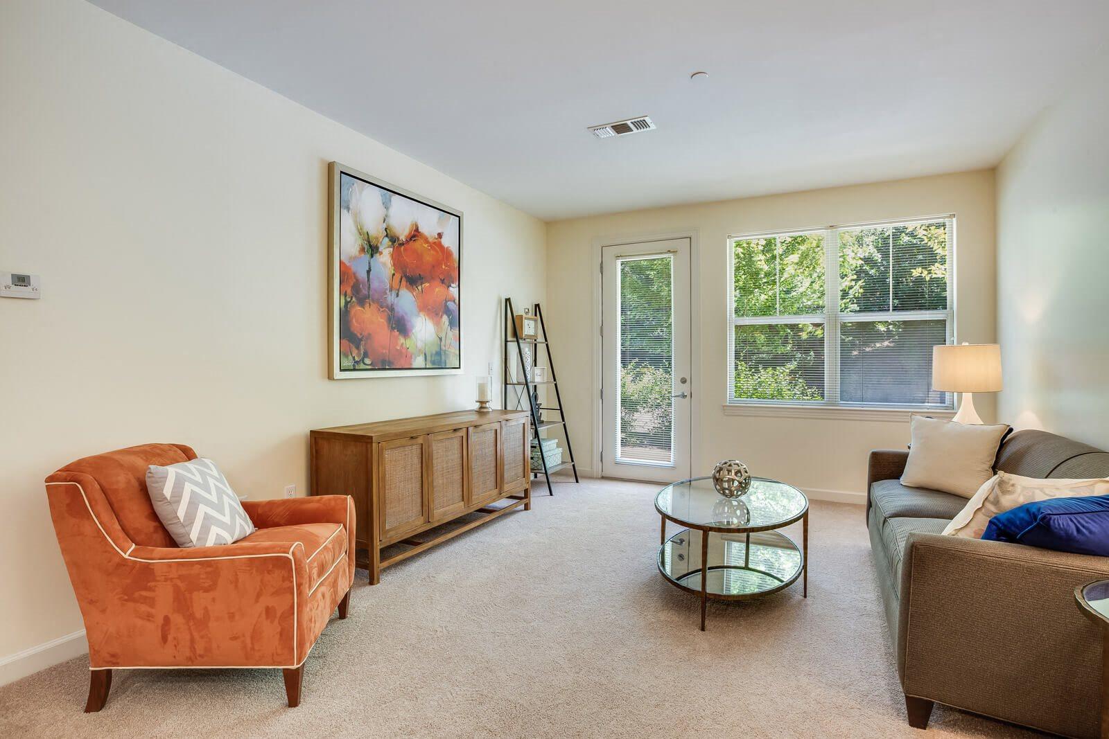 Large Windows Let In Abundant Natural Light at Windsor at Oak Grove, 02176, MA