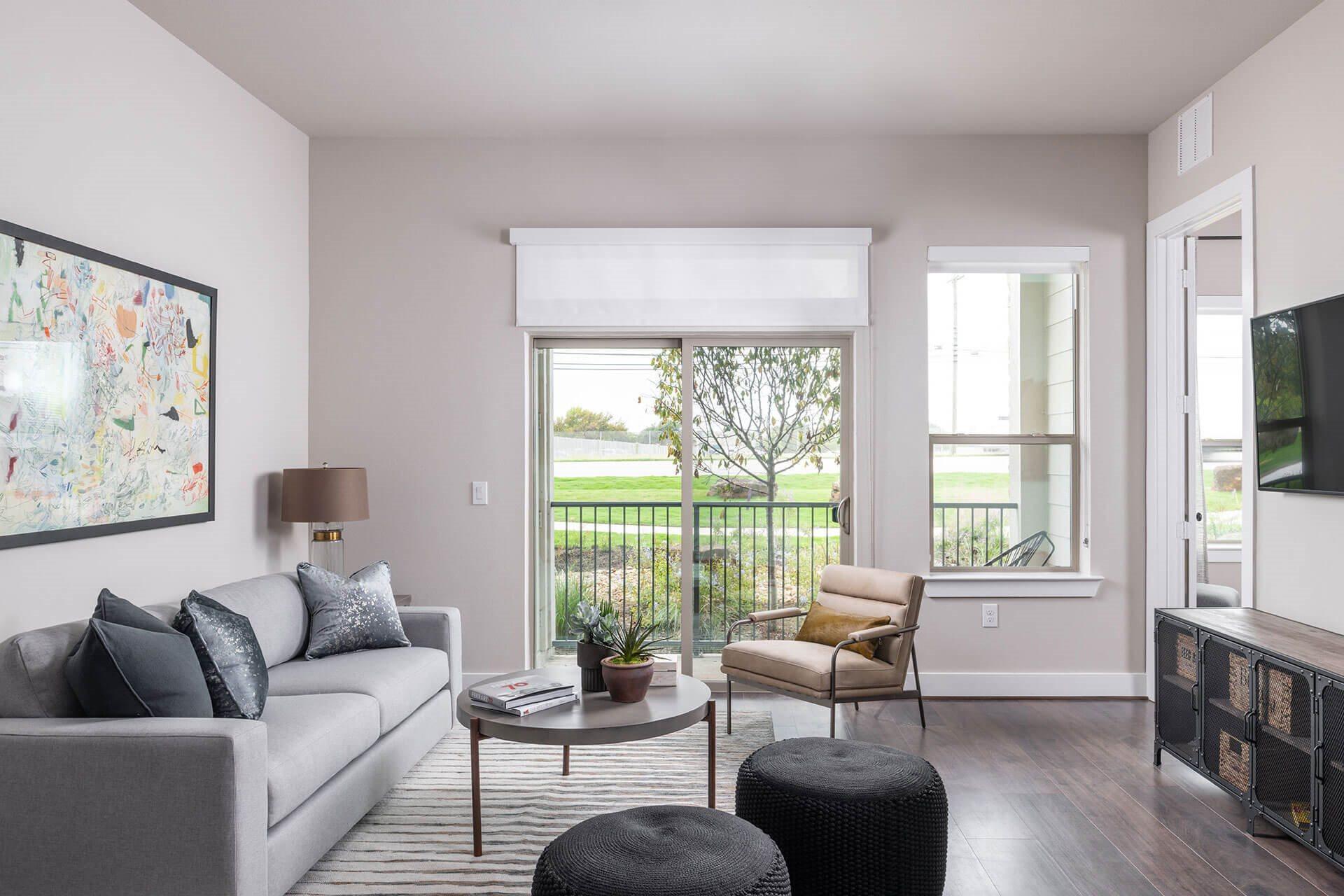 Beautiful Views from Apartment at Windsor Burnet, Austin, TX