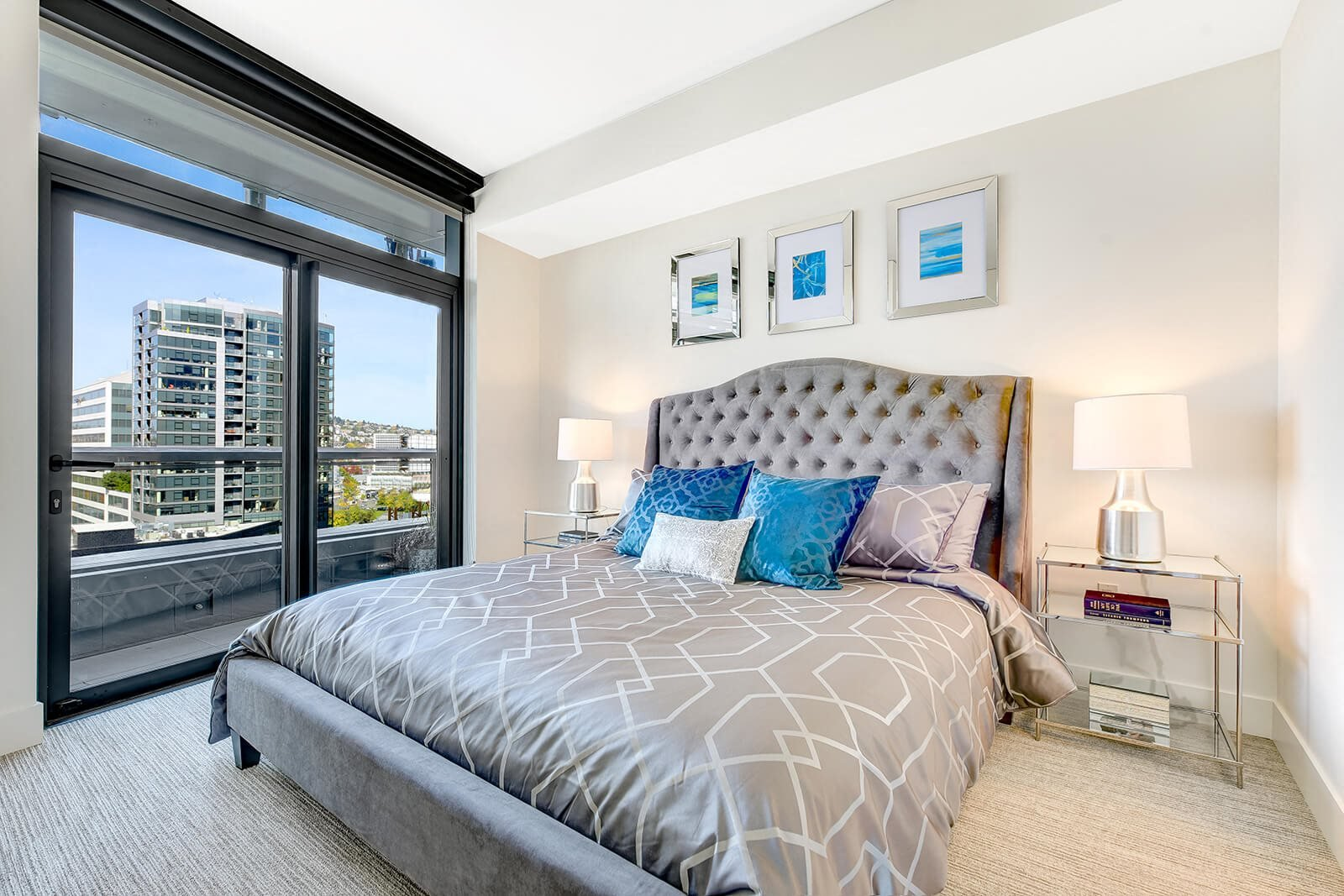Spacious, Comfortable Bedrooms at Cirrus, Seattle, WA