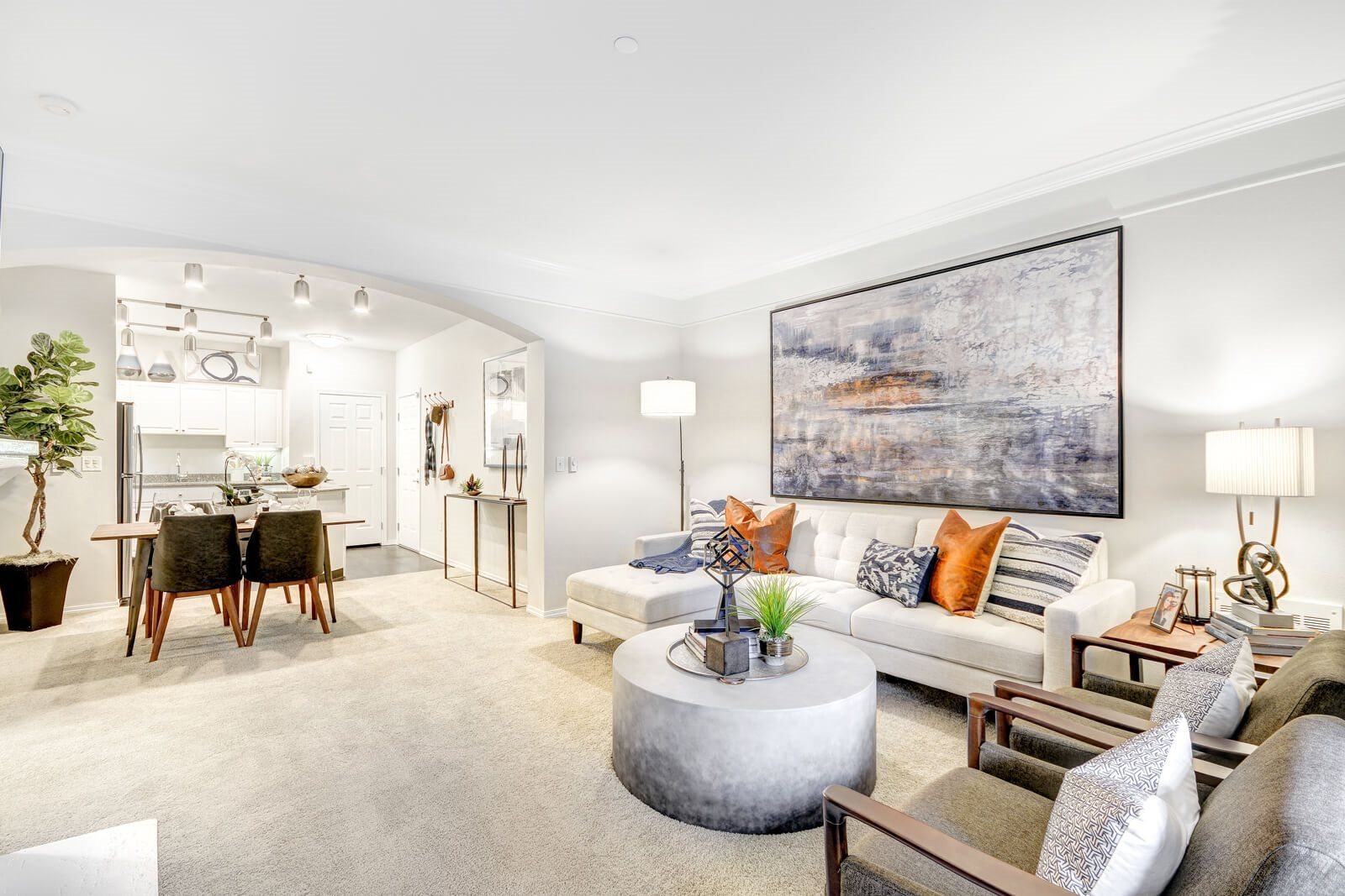 Bright and Airy Living Spaces at The Estates at Cougar Mountain, Issaquah, WA