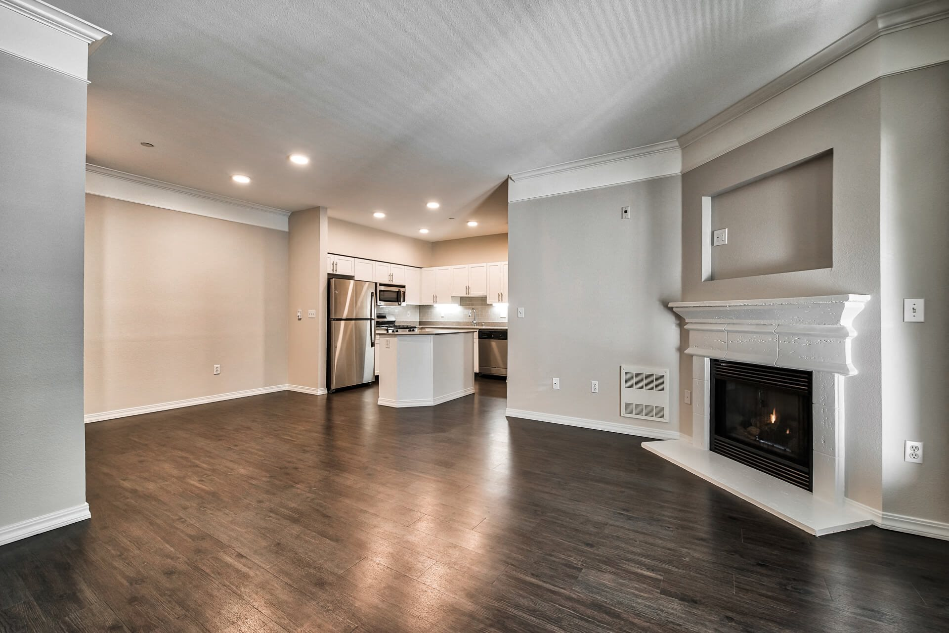 Spacious living area, at The Estates at Cougar Mountain, Issaquah, 98027