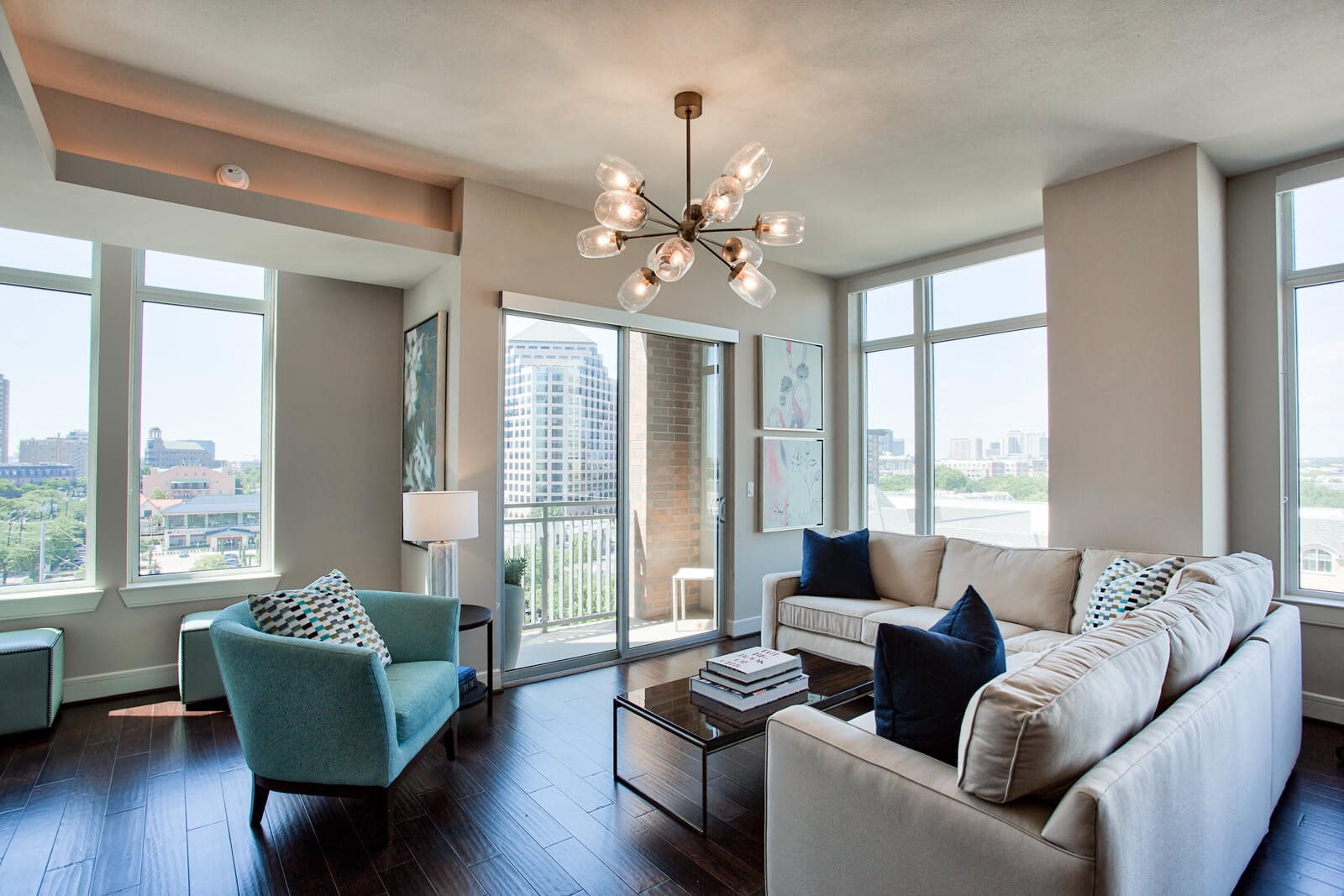 Private Patios & Balconies Available at The Jordan by Windsor, Dallas, 75201