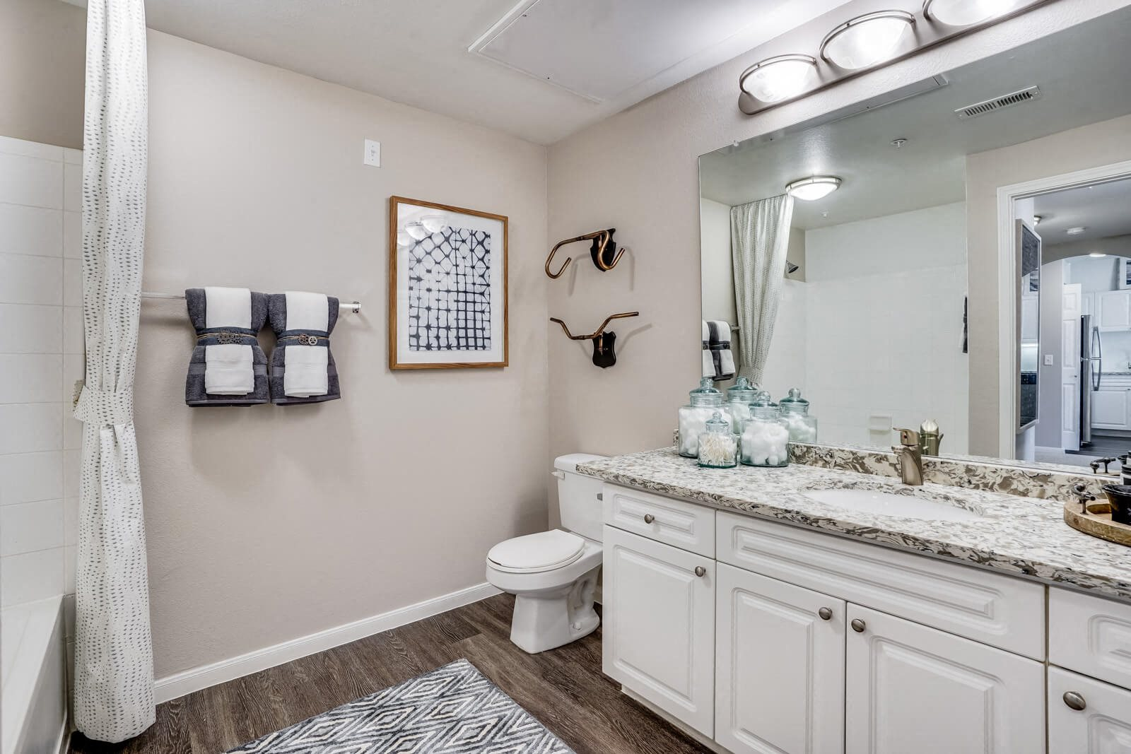 Spa-Inspired Bathrooms at Windsor at Meridian, Englewood, Colorado