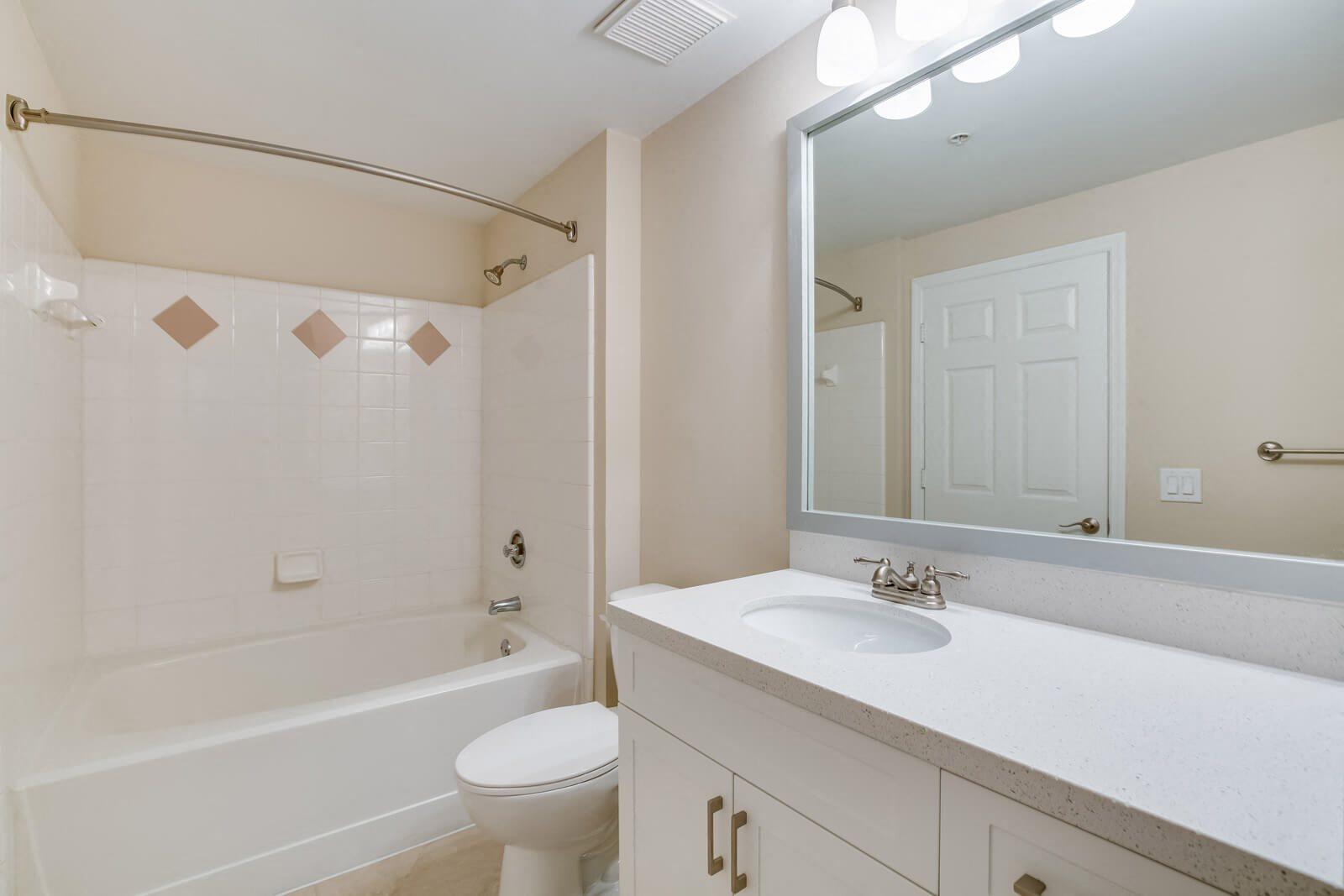 Spacious, Renovated Bathrooms at Windsor at Miramar, Miramar, FL