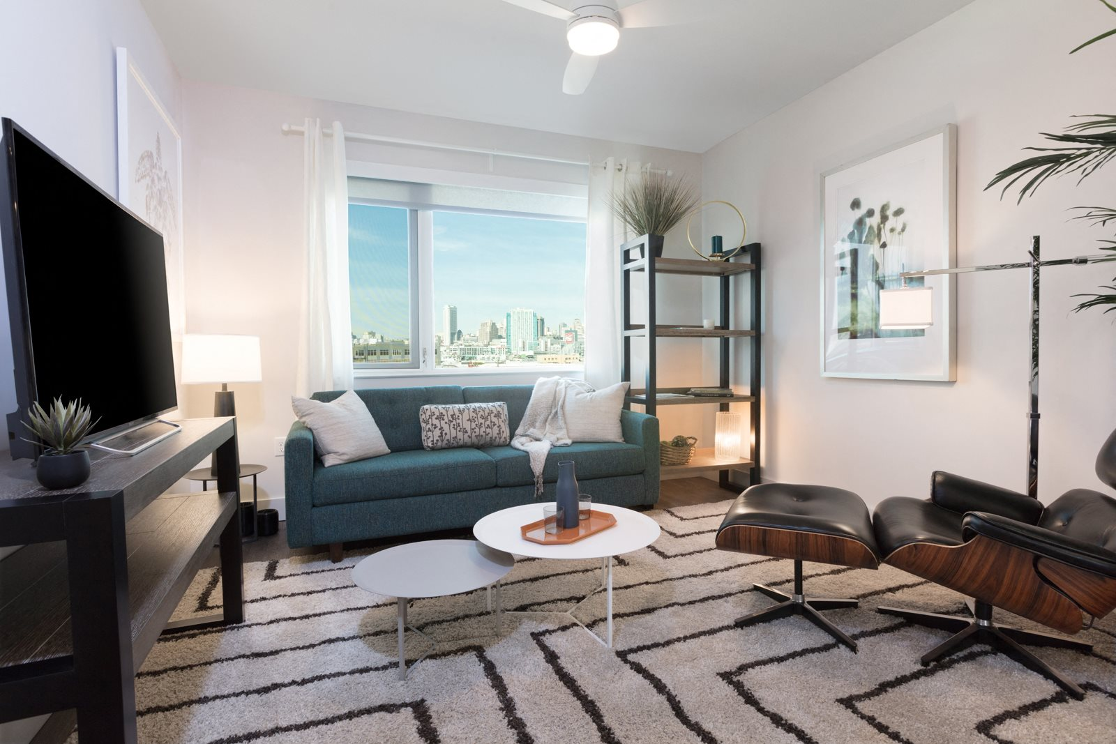 Views of San Francisco from Select Apartments at Mission Bay by Windsor, San Francisco, California