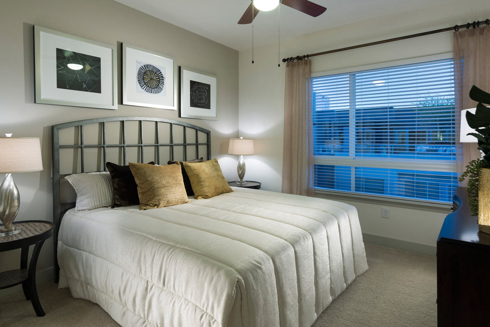 Private Master Bedroom at Olympic by Windsor, Los Angeles, 90015