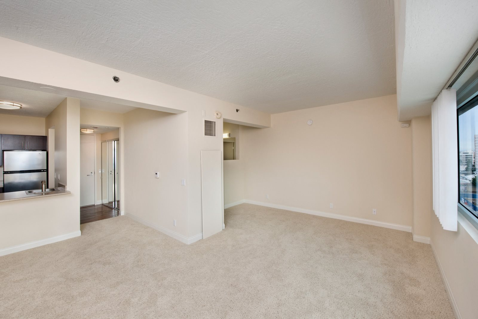 Open Concept Floor Plan at Renaissance Tower, Los Angeles, 90015