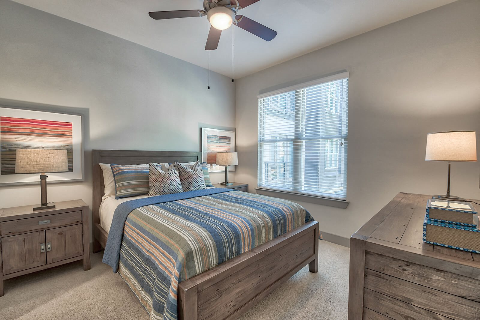 Spacious, Carpeted Bedrooms at Windsor South Lamar, Austin, 78704