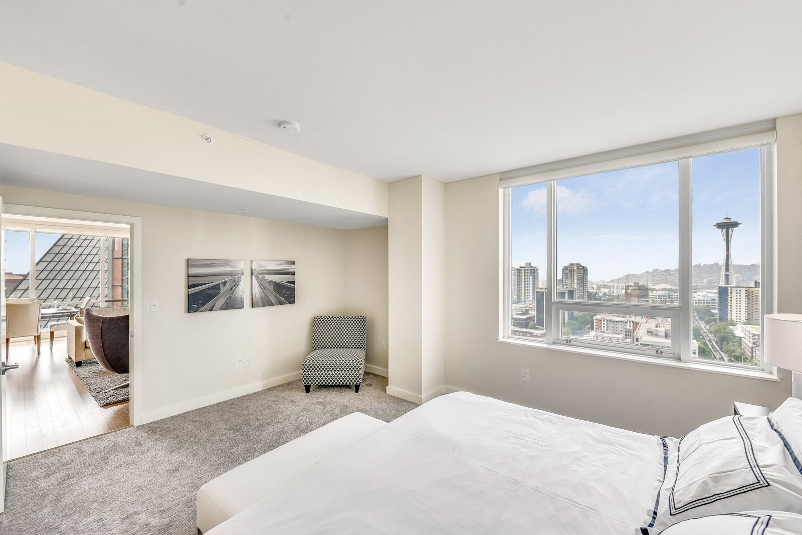 Large Windows Let in Natural Light at The Martin, Seattle, 98121