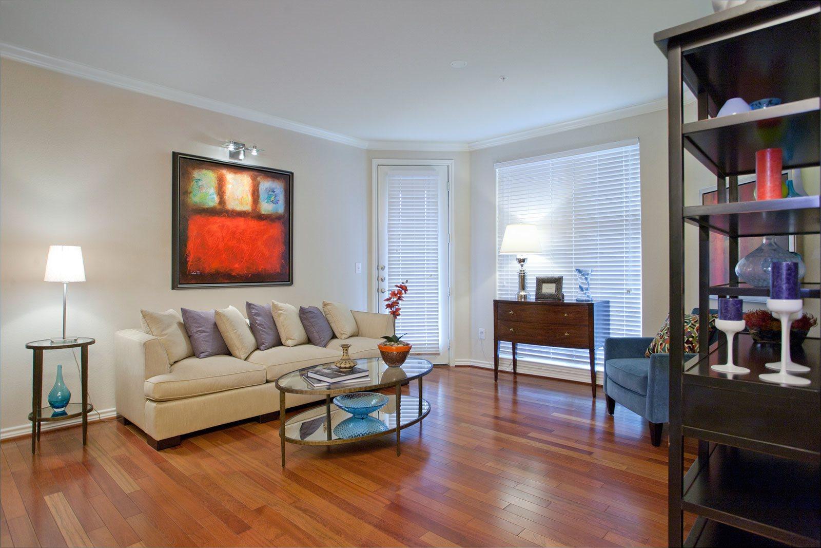 Hardwood Floors at Trianon by Windsor, 2820 McKinnon Street, Dallas