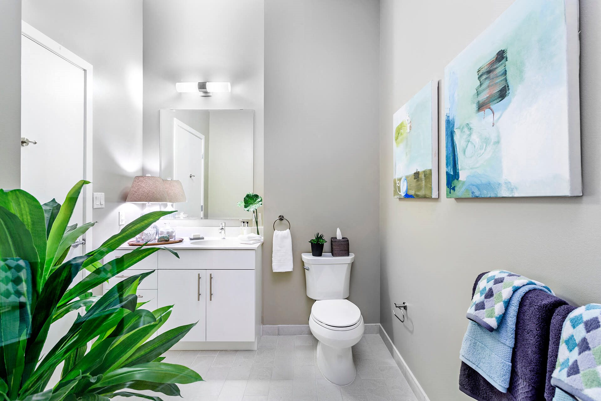 Spacious Bathrooms at Waterside Place by Windsor, Massachusetts, 02210